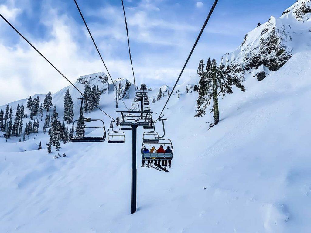 Wyciąg narciarski Palenica i wyciąg krzesełkowy